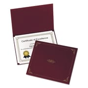 Oxford® Certificate Holder, 8 1/2 x 11, 5/Pack (29900585BGD)