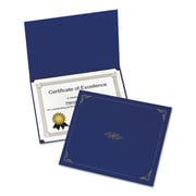 Oxford® Certificate Holder, 8 1/2 x 11, 5/Pack (29900235BGD)
