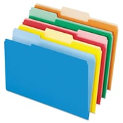 Pendaflex® Interior File Folders, Legal, Assorted, 100/Box (435013ASST)