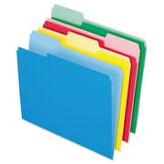Pendaflex® Colored File Folders, Letter, Assorted, 24/Pack (82300)
