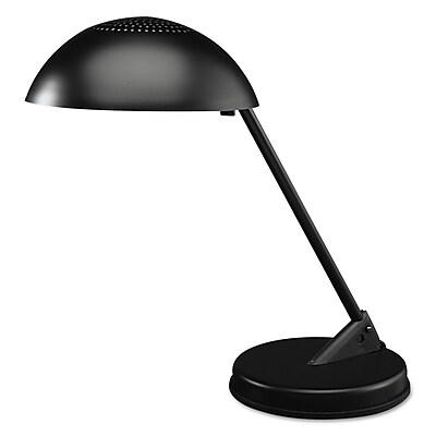 """""""""""Ledu CFL Domed Desk Lamp, 8 3/4"""""""""""""""" x 16 1/4"""""""""""""""" x 16 1/4"""""""""""""""", Matte Black (L563MB)"""""""""""" 618812"""