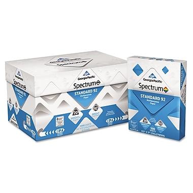 Georgia Pacific® Spectrum® Standard 92 Multipurpose Paper, 8 1/2 11, White, 5000/Carton (999705EA)