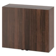"HON  Modular Hospitality 36"" Double Hanging Wall Cabinet, Colombian Walnut (HONHPHC2D36Z)"
