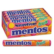Mentos® Chewy Mints, 1.32 oz, Mixed Fruit, 15/Box (VAM4181)