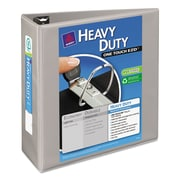 Avery® Heavy-Duty View Binder with Locking EZD™ Rings, 11 x 8 1/2, View, Each (79404)