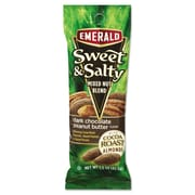 Emerald® Tube Nuts, Sweet & Salty Dark Chocolate Peanut Butter, Nuts, 1.5 oz (93017)