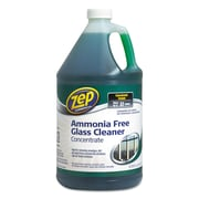 Zep Commercial® Ammonia-Free Glass Cleaner, Agradable, 128 oz, Each (ZU1052128)