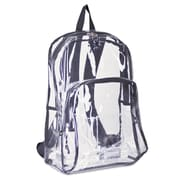 Eastsport® Clear Backpack, Clear, PVC (193971BJ-BLK)