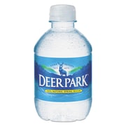 Deer Park® Natural Spring Water, 8 oz Bottle, 48/Carton (828473)