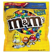 M & M's® Chocolate Candies, 56 oz, Milk Chocolate with Peanuts, Each (827450)