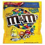 M & M's® Chocolate Candies, 56 oz, Milk Chocolate with Peanuts, Each (827450)