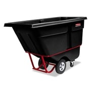 Rubbermaid® Commercial Rotomolded Tilt Truck, 850 lbs Capaity, Black, Each (FG130500BLA)