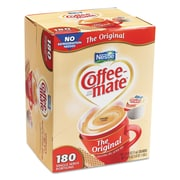 Coffee-mate® Liquid Coffee Creamer, 0.375 oz, Original, 180/Carton (753032)