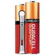 Duracell® Quantum Alkaline Batteries with Duralock Power Preserve™ Technology, AA, 144/Carton (QU1500BKD09)