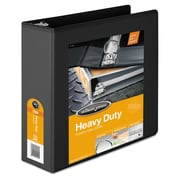 Wilson Jones® Heavy-Duty Round Ring View Binder with Extra-Durable Hinge, 8 1/2 x 11, View, Each (W363-49BAPP1)