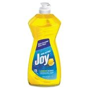 Joy® Dishwashing Liquid, 14 oz, Lemon, 25/Carton (PGC 21737)