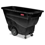 Rubbermaid® Commercial Structural Foam Tilt Truck, 450 lbs. Capaity, Black, Each (RCP 9T13 BLA)