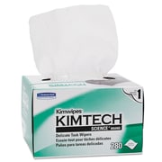 "Kimtech* KIMWIPES* Delicate Task Wiper, 4 2/5"" x 8 2/5"", Unscented, 16800/Carton (KCC 34155)"