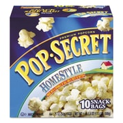 Pop Secret® Popcorn, Homestyle, Popcorn, 1.2 oz (28781)