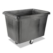 Rubbermaid® Commercial Cube Truck, 600 lbs. Capaity, Black, Each (RCP 4619 BLA)
