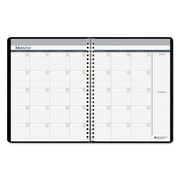 House of Doolittle™ Nondated Monthly Planner, Black (HOD58202)