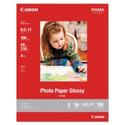 Canon® GP-601 Glossy Photo Paper, Glossy, 8 1/2 x 11, White, 100/Pack (8649B004)