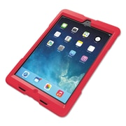 Kensington® BlackBelt™ 1st Degree Rugged Case, Nontoxic Silicone Rubber, iPad Air™, Red (K97075WW)