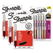 Sharpie® Fine Tip Permanent Marker, Fine, Assorted, 1/Kit (BNDM2)
