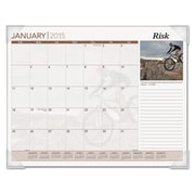 AT-A-GLANCE® Inspirational Monthly Desk Pad Calendar, 2016, 22 x 17, Inspirational (DMD100-32)