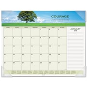 AT-A-GLANCE® Motivational Panoramic Desk Pad, 2016, 22 x 17, Motivational (89801)
