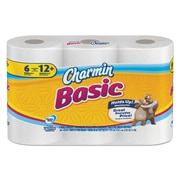 Charmin® Basic One-Ply Toilet Paper, 1-Ply, White, 1/Pack (85982 PK)