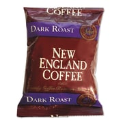 New England Coffee Coffee Portion Packs, French Roast, 2.5 oz, 24/Carton (026190)
