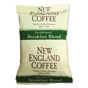 New England Coffee Coffee Portion Packs, Breakfast Blend Decaf, 2.5 oz, 24/Carton (026160)