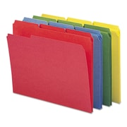 Smead® Reinforced Top Tab Colored File Folders, Letter, Assorted, 12/Pack (11641)