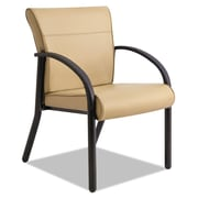La-Z-Boy® Contract Gratzi Reception Series Guest Chair, Vinyl, Taupe, Each (LF14A,HUDTAUPE)