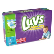 Luvs Diapers, Size 2, 2/Carton (85923)