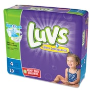 Luvs Diapers, Size 4, 4/Carton (85925)