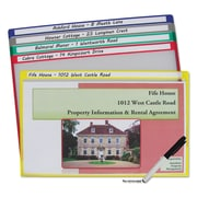 C-Line® Write-On Project Folders, Assorted, Legal, 25/Each (62180)