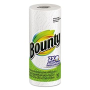 Bounty® Perforated Towel Rolls, 2-Ply, Perforated Roll, White, 44/Roll, 1320/Carton (88275)