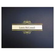 """St. James™ Regent Certificate Holders, Navy Blue/Gold Foil, 9 3/4"""" x 12 1/2"""", 10/Pack (83544)"""