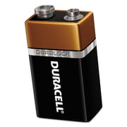 Duracell® CopperTop® Alkaline Batteries with Duralock Power Preserve™ Technology, 9V, Each (80216689)