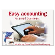 "Dome® Simplified Bookkeeping Software, 0.5"" x 5.5"" (0114R)"