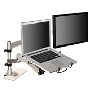 "3M™ Monitor Arm Laptop Adapter, 3 3/4"" x 12 1/4"" x 13 3/8"", Silver/Black (MALAPTOP2)"