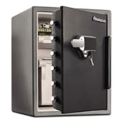 Sentry® Safe Electronic Touchscreen with Alarm Water-Resistant Fire-Safe®, 2 cu. ft., Keypad w/Key (SFW205UPC)