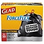 Glad® Drawstring Large Trash Bags Trash Bags, 1.1