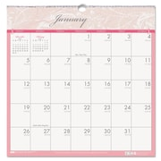 House of Doolittle™ Breast Cancer Awareness Monthly Wall Calendar, 2016, 12 x 12, Pink/Gray/Breast Cancer Awareness (HOD3671)