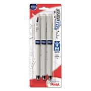 Pentel® EnerGel® Tradio® Liquid Gel Pen, 0.7 mm, Blue, 3/Pack (PENBL117WBP3C)