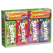 Wrigley's® Skittles® & Starburst® Candy Variety Pack, Assorted, 30/Pack (831230)