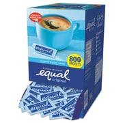 Equal® Zero Calorie Sweetener, 0.035 oz, 800/Carton (843126)