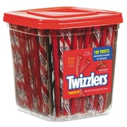 Twizzlers® Strawberry Twizzlers®, 57.5 oz, Strawberry, 180/Carton (391322)